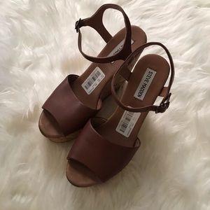Steve Madden Korky wedge sandals